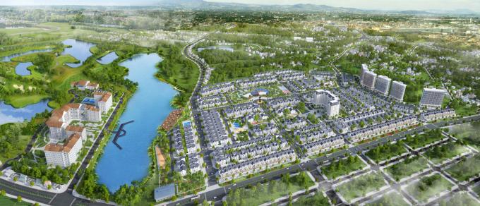 Phối cảnh dự án Times Garden Vĩnh Yên Residences.