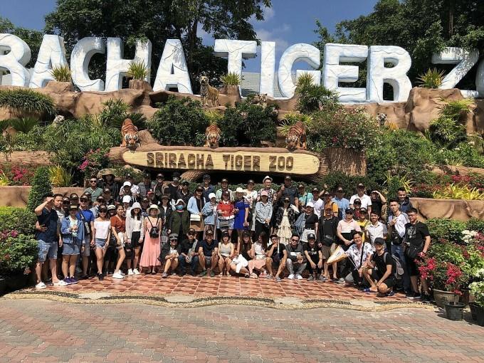 Sao Việt tổ chức cho nhân viên đi du lịch tại Thái Lan năm 2019.