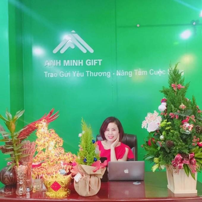 Bà Nguyễn Thanh Mai - Tổng giám đốc Công ty Anh Minh Gift.