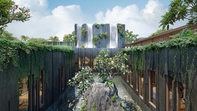 Thiết kế gần gũi với thiên nhiên tại dự án.