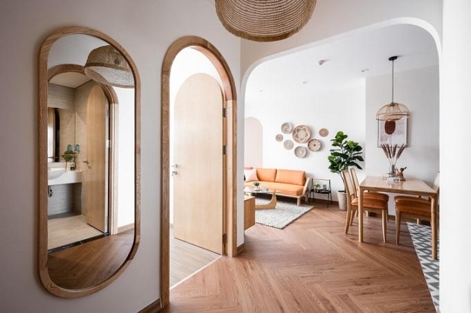 Thiết kế căn hộ 1 phòng ngủ +1.