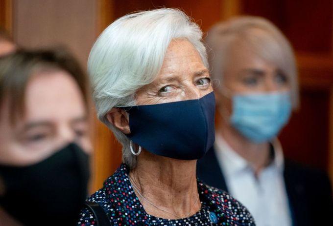 Bà Christine Lagarde trong một sự kiện hôm 11/9. Ảnh: Reuters