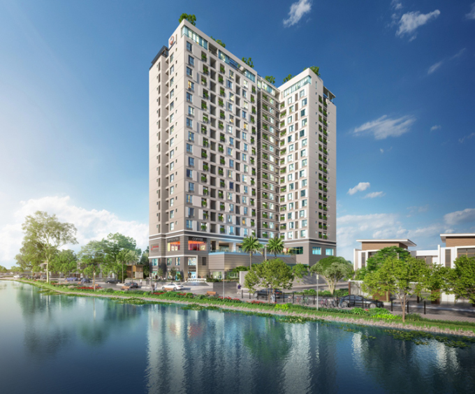 Phối cảnh dự án căn hộ trung tâm Tân Sơn Nhất Happy One - Premier.