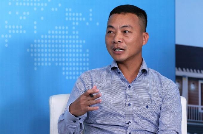 Ông Nguyễn Ngọc Hân - Tổng giám đốc Công ty Cổ phần Truyền thông đa phương tiện Thủ Đô đang tìm cơ hội đầu tư tại Phan Thiết. Ảnh: Ngọc Thành.