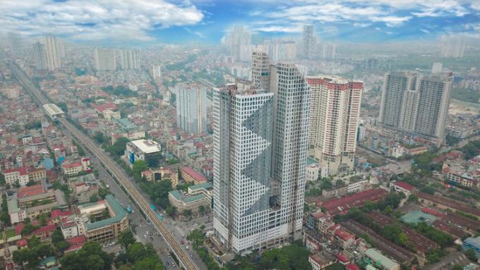 Tòa tháp Thiên Niên Kỷ.