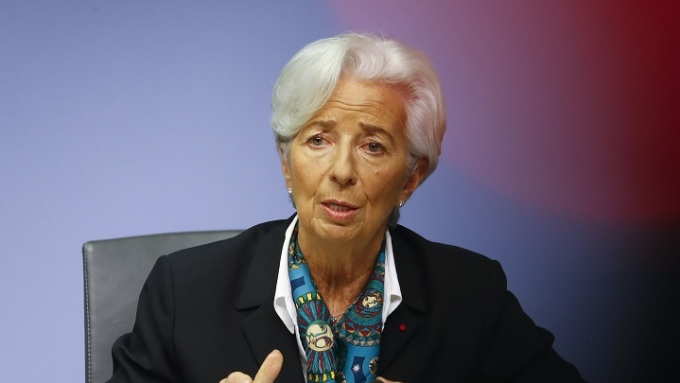 Chủ tịch ECB Christine Lagarde. Ảnh: Bloomberg