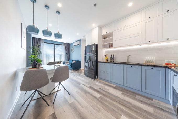 Một căn hộ mẫu Vinhomes Smart City.