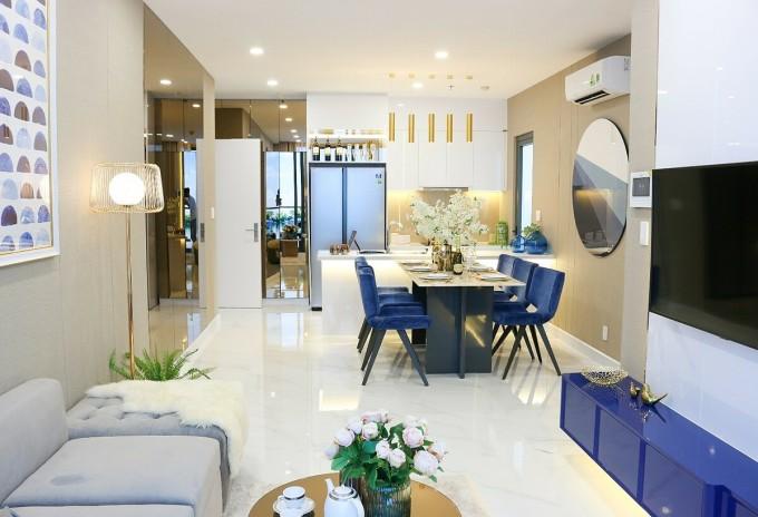 Căn hộ Precia có giá từ 50 triệu đồng một m2, bàn giao hoàn thiện nội thất cơ bản cao cấp. Ảnh: Rio Land.