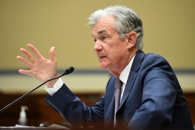 Chủ tịch Cục Dự trữ liên bang Mỹ (Fed) Jerome Powell. Ảnh: NYT