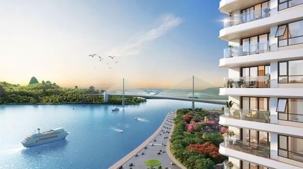 Phối cảnh dự án bất động sản nghỉ dưỡng tại Hạ Long.