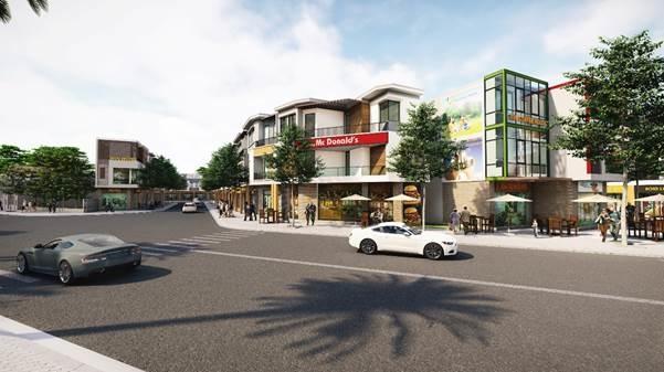 Thuận An trở thành thành phố trực thuộc Bình Dương tạo cơ hội phát triển bất động sản. Ảnh phối cảnh dự án Lavela Garden: Ngọc Lễ.
