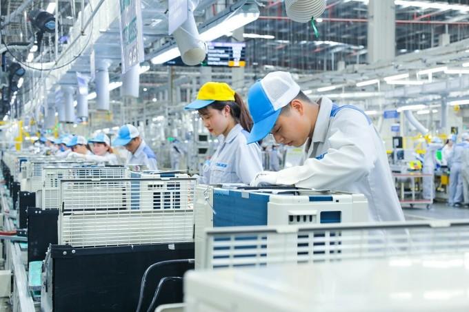 Quy trình và sản phẩm tại nhà máy Daikin Việt Nam được thiết lập và đi theo một tiêu chuẩn đồng nhất với sản phẩm được sản xuất tại Nhật Bản hay bất cứ đâu trên thế giới.