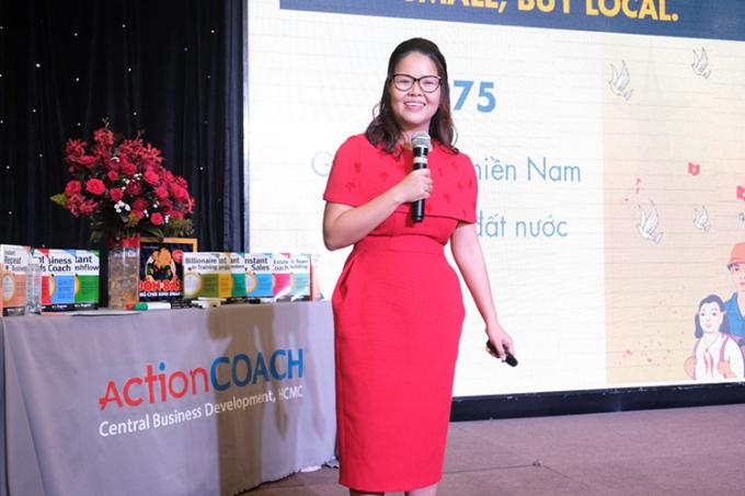 Bà Anna Nguyễn Thị Bích Hằng – Tổng giám đốc ActionCOACH CBD Firm.
