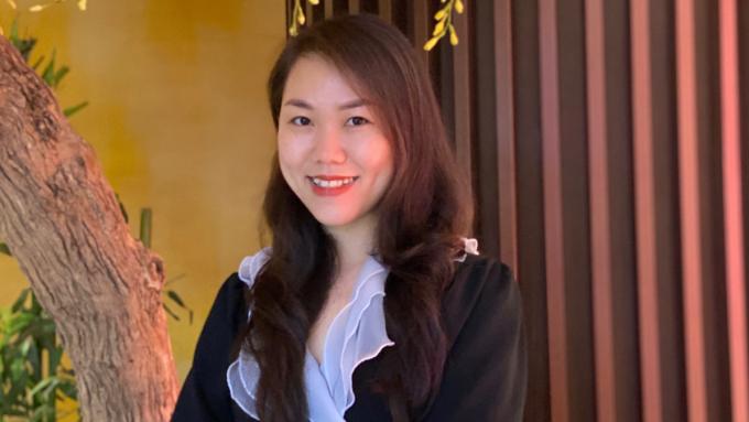 Bà Trần Thị Nguyệt Hằng - Trưởng phòng cấp cao Kiểm soát bán hàng tại Mercedes-Benz Việt Nam. Ảnh: NVCC.