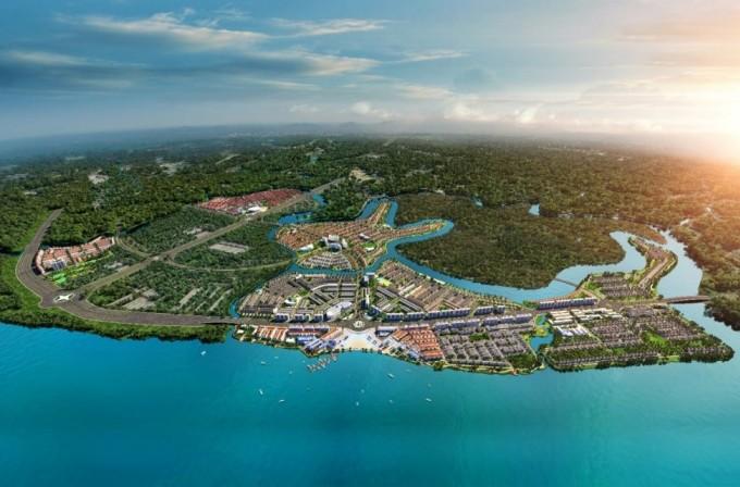 Sở hữu lợi thế hạ tầng kết nối thuận tiện và không gian sống chất lượng, khu đô thị sinh thái thông minh Aqua City thu hút mạnh dòng vốn với tỷ lệ hấp thụ sản phẩm luôn đạt 80-100%. Ảnh phối cảnh: Novaland.