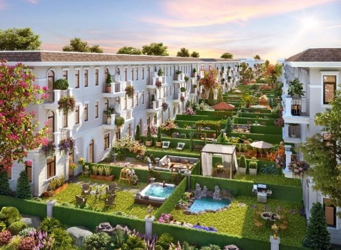 Aqua City hướng đến kiến tạo không gian sống như nghỉ dưỡng cho cư dân. Ảnh phối cảnh: Novaland.