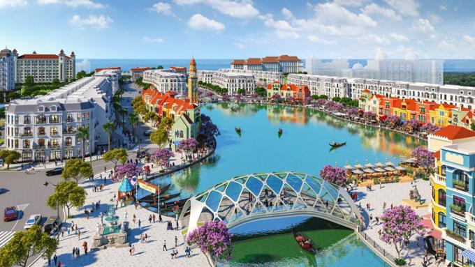 Phối cảnh dự án Grand World Phú Quốc.