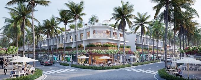 Phân khu The Sound tạo căn hộ cho nhà đầu tư đón đầu đà phát triển du lịch nghỉ dưỡng Bình Thuận. Hotline: 19008060. Website.  Ảnh phối cảnh: Nam Group.