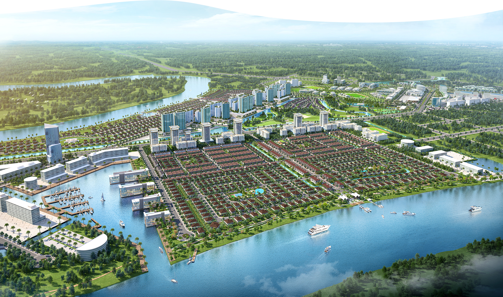 'Phố bên sông' 355 ha của Nam Long tại Long An 2020 33