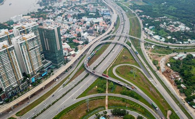 TP HCM đang ấp ủ phát triển khu đô thị sáng tạo sáp nhập từ ba quận: quận 2, quận 9 và quận Thủ Đức. Ảnh: Quỳnh Trần.