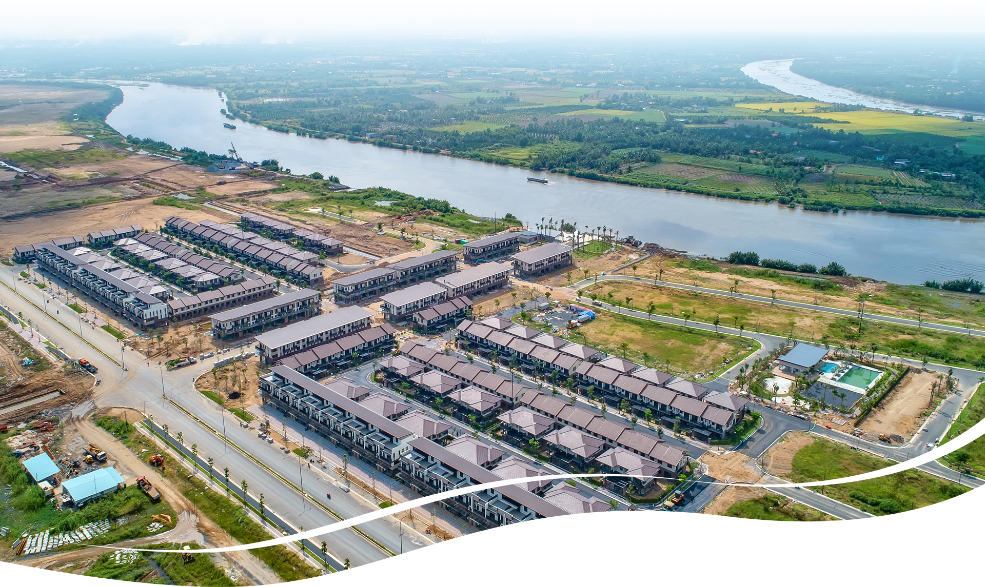 'Phố bên sông' 355 ha của Nam Long tại Long An 2020 26