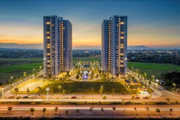 Phối cảnh Vinhomes New Center Hà Tĩnh.
