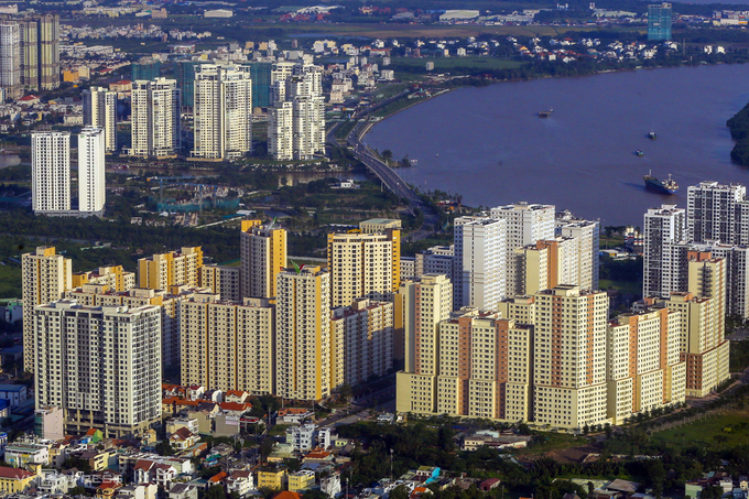Bất động sản khu đông TP HCM (quận 2). Ảnh:Quỳnh Trần.