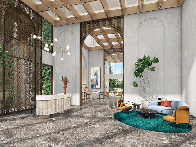 Dự án Master Centre Point được phát triển theo phong cách futuristic. Ảnh phối cảnh: Masterise Homes.