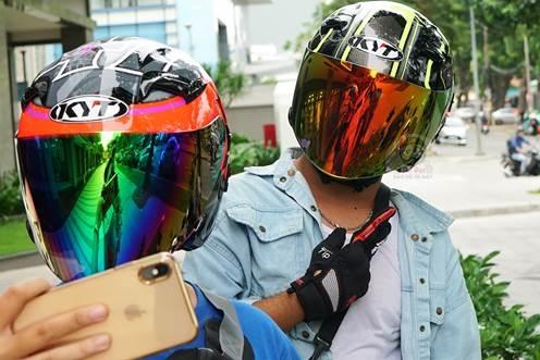 Mũ đảm bảo an toàn và phong cách thời trang cho người trẻ.