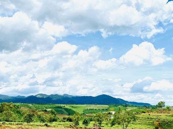 TP Bảo Lộc có khí hậu mát mẻ quanh năm. Ảnh: Minh Khôi.