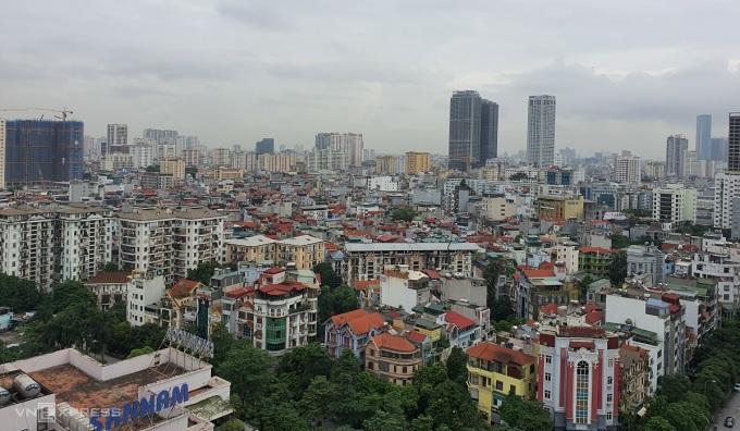 Bất động sản tại khu vực Cầu Giấy, Hà Nội, Ảnh: Phương Ánh.