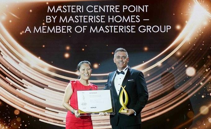 Dự án Masteri Centre Point được vinh danh tại Vietnam Property Awards
