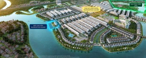 Bản thiết kế Đại lộ Ánh sáng và Bến thuyền cao cấp nằm tại vị trí trung tâm của Đại đô thị Vinhomes Grand Park.