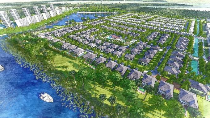 Dự kiến vào quý IV, các loại Grand Villa nằm trong compound biệt lập của phân khu Aquaria khép kín cũng sẽ ra mắt thị trường. Ảnh: Nam Long