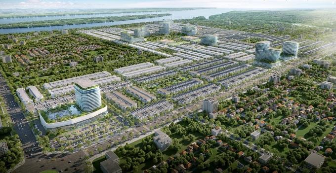 Stella Mega City đón đầu làn sóng phát triển đô thị tại Cần Thơ. Ảnh phối cảnh: KITA Group.