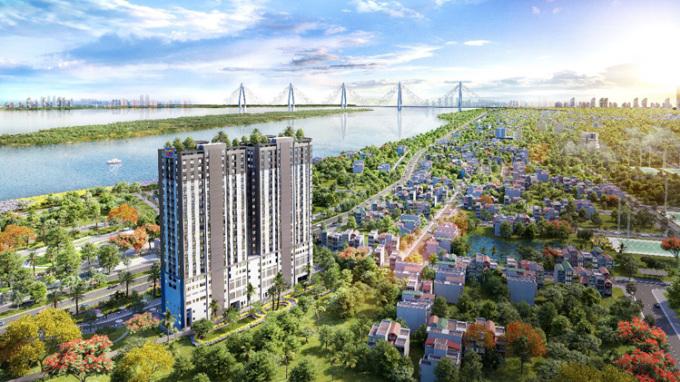 Dự án Tây Hồ River View đang trong giai đoạn hoàn thiện bàn giao nhà.