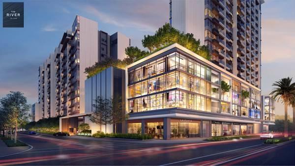 Đại lộ Vòng Cung đang tạo tiềm năng cho các dự án nằm trên cung đường này. Ảnh phối cảnh: City Garden Thủ Thiêm.