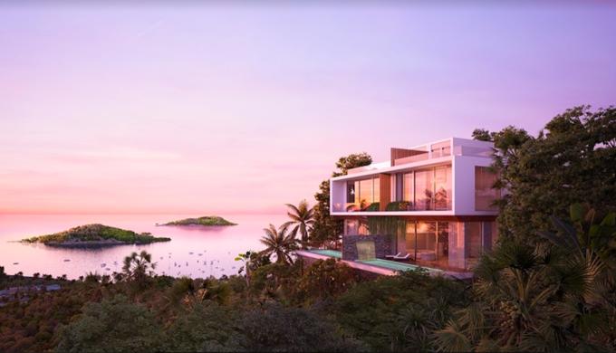 Dự án biệt thự Casa Marina Premium Quy Nhơn đón đầu nhu cầu nghỉ dưỡng hạng sang đang phát triển mạnh mẽ tại vùng biển miền Trung. Ảnh phối cảnh: BCG Land.
