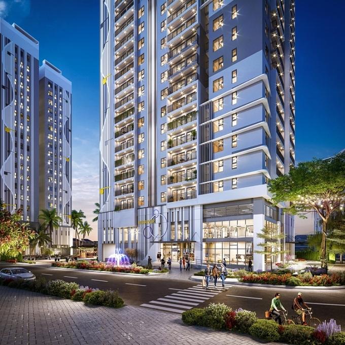 BerRiver Jardin là dự án hiếm hoi còn lại tại trung tâm Long Biên.