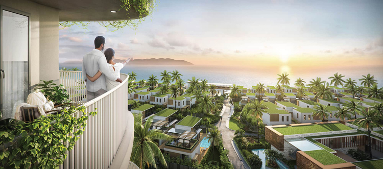 Tầm nhìn 100% hướng biển của Shantira Beach Resort & Spa.