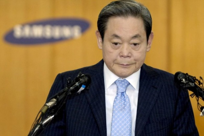 Cố chủ tịch Samsung Lee Kun-hee. Ảnh: EPA.