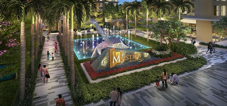 Thiết kế cảnh quan của Masteri Waterfront được phát triển bởi Belt Collins.