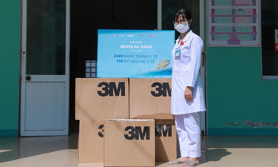 Shopee quyên góp 100 triệu đồng cho giải 'Brave Đà Nẵng'