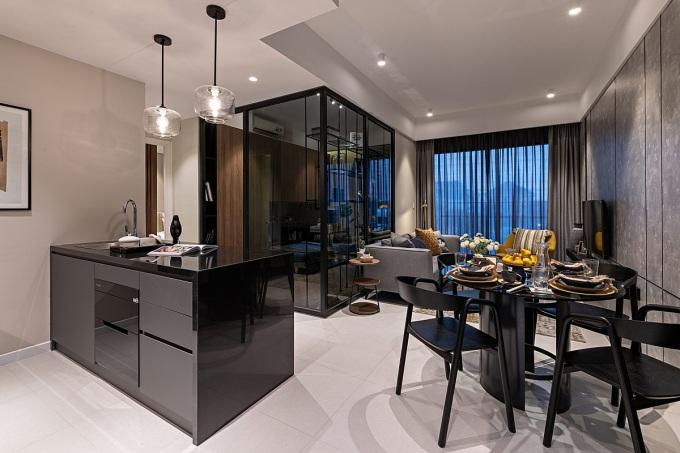 Hình ảnh thực tế căn hộ tại dự án Anderson Park. Ảnh: Anderson Park.