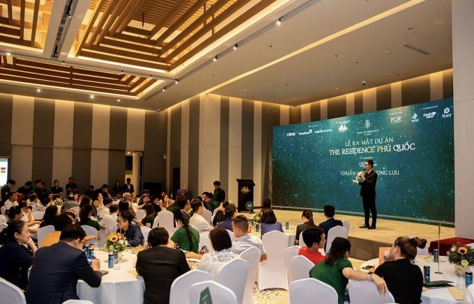 Lễ ra mắt dự án The Residence Phú Quốc thu hút hơn 150 người tham dự. Ảnh: HTĐT Corp.