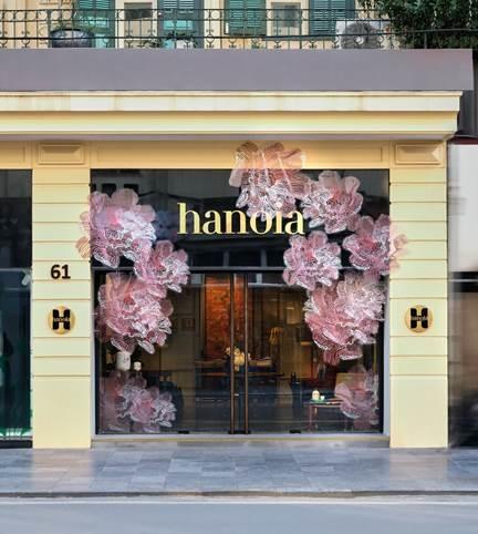 Cửa hàng nội thất Hanoia.
