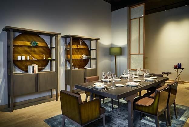 Phòng ăn trang trí nội thất Hanoia.