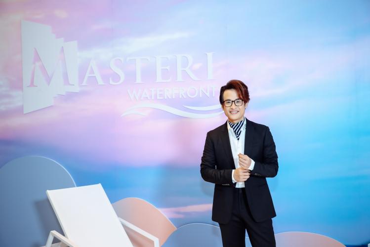 Ca sĩ Hà Anh Tuấn - người truyền câu truyện cảm hứng cùng Masteri Waterfront tại Hà Nội