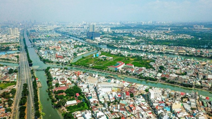 Hạ tầng hoàn thiện và vẫn đang tiếp tục được phát triển là động lực lớn cho bất động sản Tây Nam Sài Gòn. Ảnh: DHA.