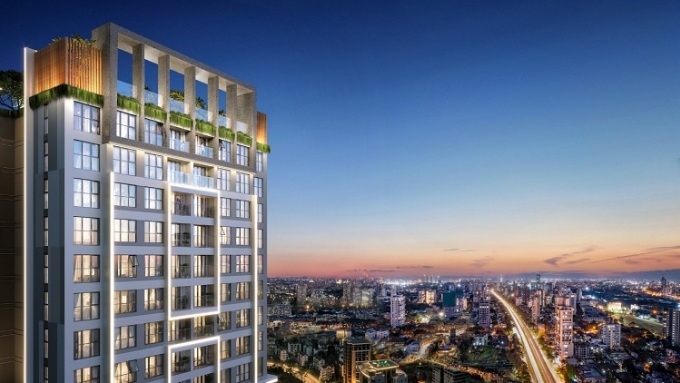 Dự án căn hộ cao cấp Happy One - Central tại Bình Dương.